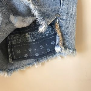 GAP Shorts - GAP Summer Short Destroyed Denim Cut-Offs